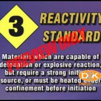 NFPA Hazardous Material Labeling ID